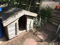 Dog Kennel Wooden, solid