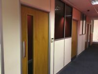 demountable partitions doors and windows complete office cubicles for 3-5 offices