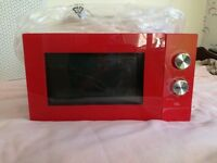 EGL 25 Litre Microwave & Grill - Red Xmass Gift