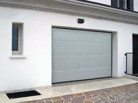 garage doors for air tightness, 40mm insulated sectional