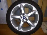 Mondeo Titanium Alloy wheel and tyre