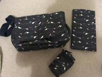 Mothercare changing bag bundle