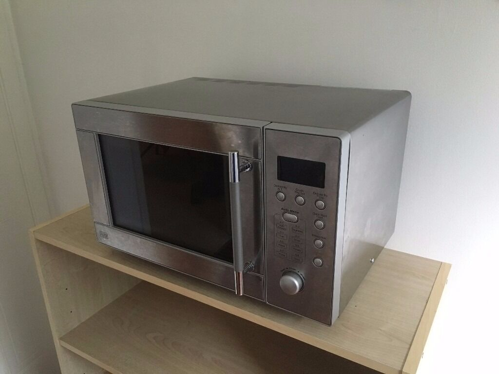 sainsburys stainless steel 20l digital microwave oven in
