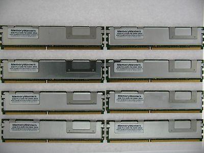 32gb (8 X 4gb) Ddr2 Fb Voll Gepuffert Pc2-5300f 667 MHZ – Dell Poweredge 1950 - Fb, Voll Gepuffert