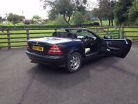 Mercedes SLK hard top convertible MANUAL, great fun, sexy little car