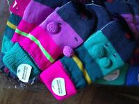 Pack of 12 Girls Mouse Mittens Brand New with Tags/ Market Car Boot