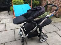 iCandy Apple 2 Pear tandem double pushchair