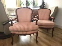 Armchairs chairs 120 pair