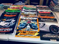 x25 TOP GEAR MAGAZINES