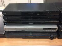 10 X Blu-Ray/DVD Players