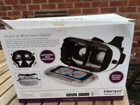 3D Virtual reality headset Intempo