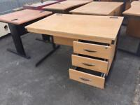 Cheap SOLID Wood Office Desk - BARGAIN
