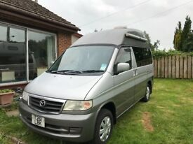 Camper Mazda Bongo 1999 high top ex cond May PX