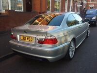 BMW 325 COUPE MANUAL. *** M SPORT** 2002