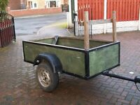 Car box trailer, ideal fro car boot, garden rubbish etc