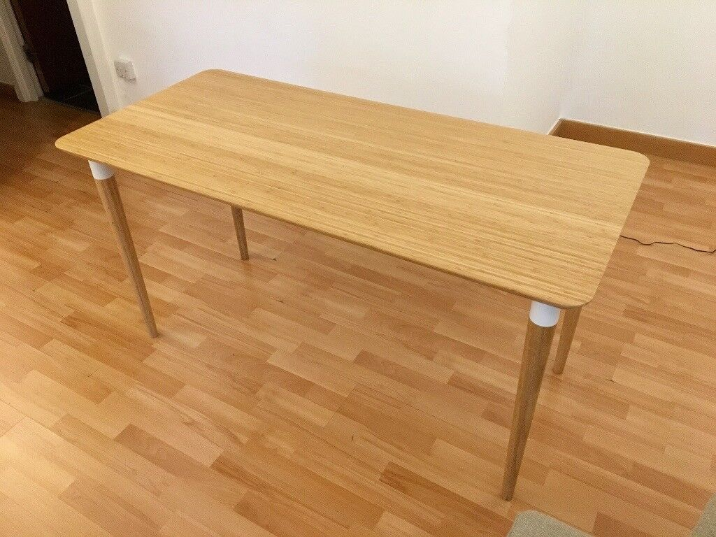 Table desk from ikea bamboo hilver from £95 to £50 in camden