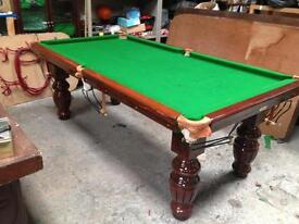 Snooker table ideal Christmas present 7x4