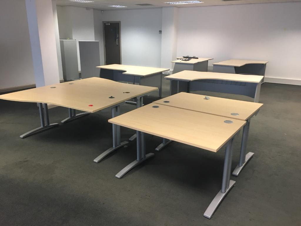 Desks to clear