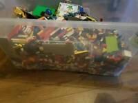 Huge box full of lego bundle