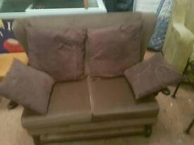 Material sofa for sale good condition