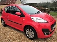 2014 Peugeot 107 *Watch Video* FREE tax, AUX, Bluetooth, Long MOT no advisories, new front brakes