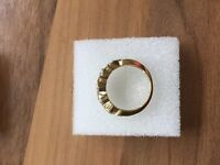 18ct gold 1.00 carat diamond ring