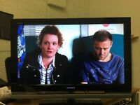 """32"""" SONY KDL-32W4000 1080p FULL HD LCD TV WITH FREE VIEW IN GREAT CONDITION"""