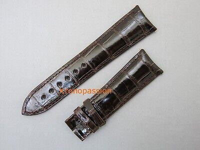 De Bethune Brown Tobacco Alligator Strap 23.0mm New !