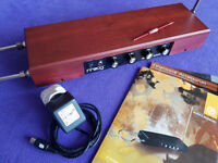 Moog Etherwave Theremin Standard in a Cherry finish – as new condition