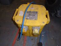 110V 240 TRANSFORMER UNIT BOX 5KVA SITE WORK