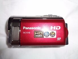 Panasonic, hand held camcorder , case, pc lead, spare batt. case, manual, Used little