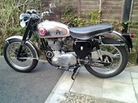 BSA GOLD STAR 500cc VIEW IN CHESHIRE