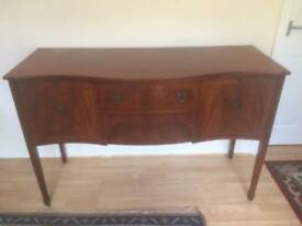 Mahogany Sideboard 4ft 6""