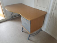 Large Office Desk and 2 x Drawer Units
