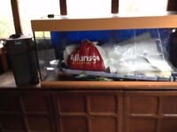 For Sale jewel fish tank with loads of extras