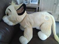 Disney Lion King Simba Soft Toy