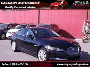 2013 Jaguar XF 3.0L Supercharged/AWD/SUNROOF/LEATHER/MUST SEE