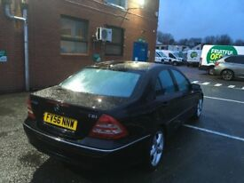 2006 Mercedes Benz C200 CDI Good Runner Leather history and mot