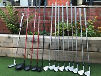 Mizuno JPX 850 - 5-PW, (driver, 3 wood, 5 wood and Hybrid XR ), TaylorMade GT Daytona 12 Putter
