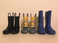 Boys wellys three pairs for £10