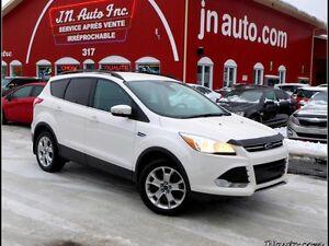 2013 Ford Escape SEL Ecoboost 4WD 2.0L, GPS+ Intérieur en cuir