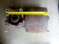 VINTAGE TRACTOR FLAT BELT PTO DRIVE PULLEY