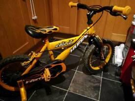 Huffy Inferno 14 inch wheel first bike boys