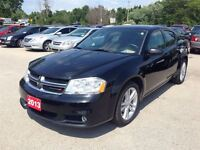 2013 Dodge Avenger SXT SHARP SEDAN!