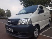 VERY TIDY - 2009 Toyota HiACE D-4D 230 2.4ltr SWB LOW MILAGE 69000