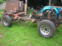landrover discovery complete rolling chassis 300series, engine and running gear