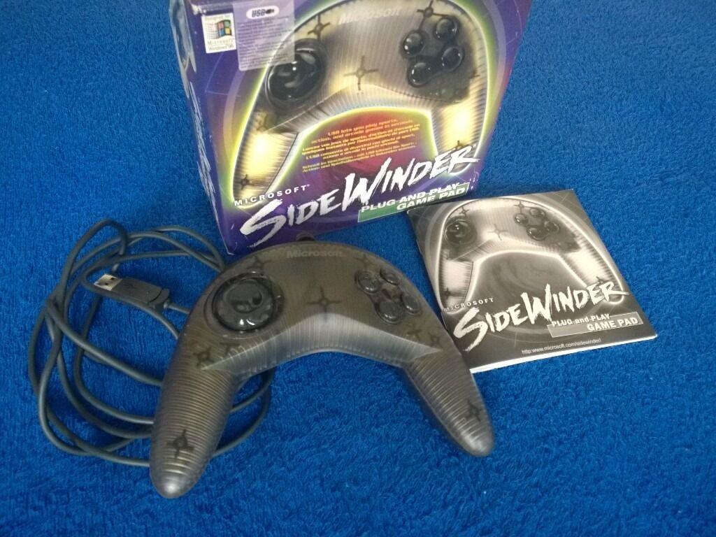 MICROSOFT SIDEWINDER USB WINDOWS GAMEPAD