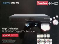 Freeview Digital TV Recorder HD 500GB as New