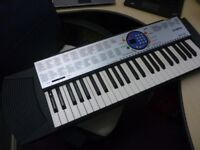 yamaha psr125 beautiful digital keyboard,has various voices,styles,mains power supply,stanmore,middx