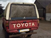 toyota hilux pickups wanted any year and condition (diesel/4wd)